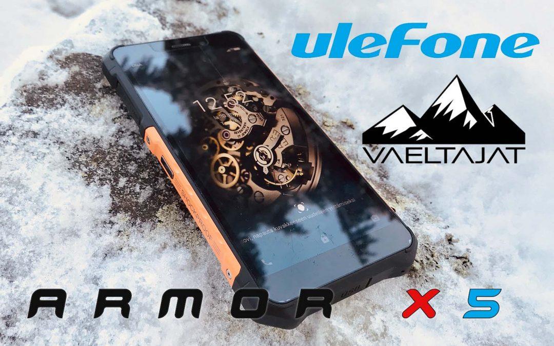 Ulefone Armor X5 veden- ja iskunkestävä älypuhelin