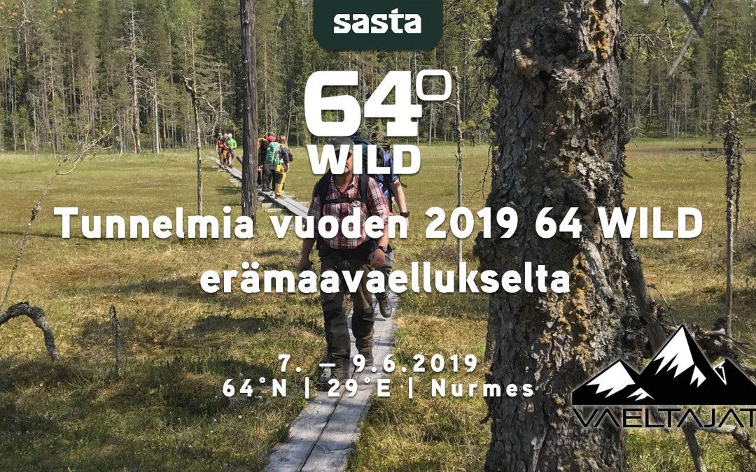 Sasta 64 Wild 2019 50v Juhlavuoden erämaavaellus