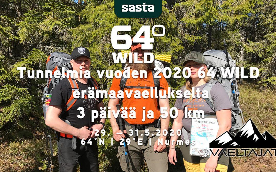 Sasta 64 WILD 2020 erämaavaellus