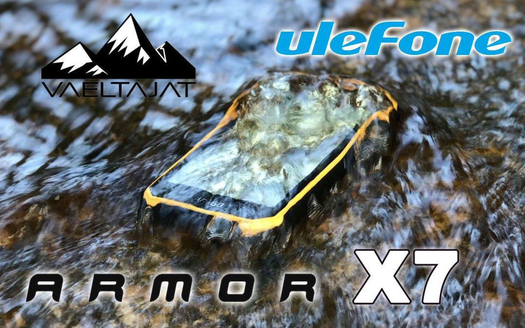 Ulefone Armor X7 veden- ja iskunkestävä älypuhelin